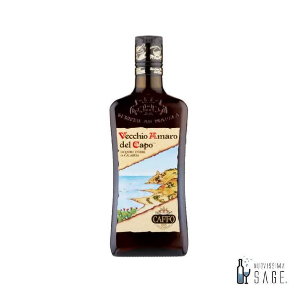 Vecchio amaro del capo bottiglia da 1 litro