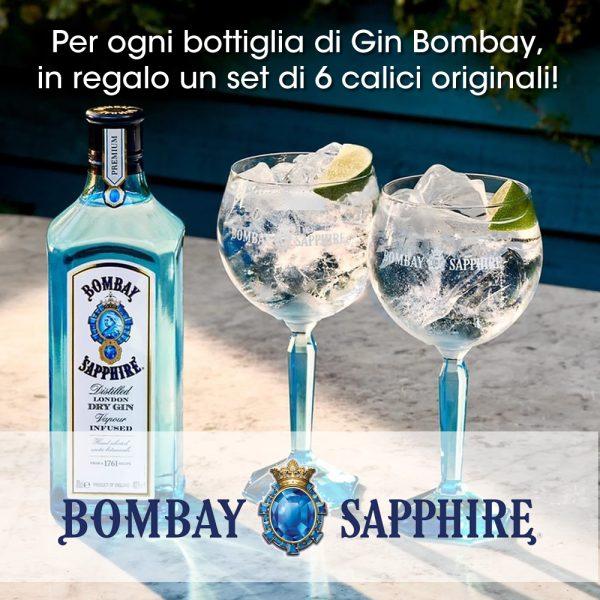 Bombay gin da 1 litro