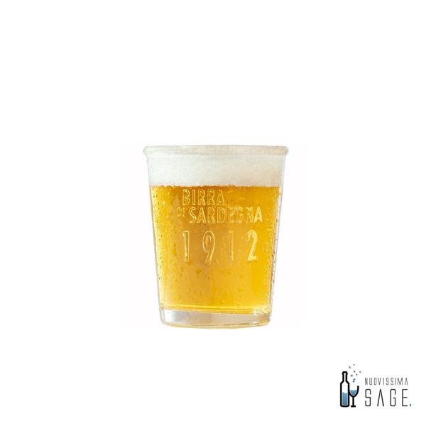 Bicchiere birra Ichnusa anima di Sardegna